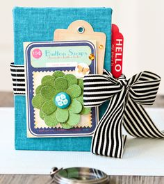 Mini envelope album by Stephanie Dagan.  It's just cute, that's all...nice idea to have on hand.