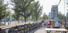Toronto Patio Guide: The Aviary Brewpub (Corktown/Canary) Brew Pub, Shop Local, Wraparound, Brewery, Toronto, Patio, Outdoor Decor, Store, Wallet
