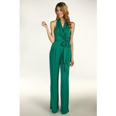 Green Womens Jumpsuit | Fashion Ql