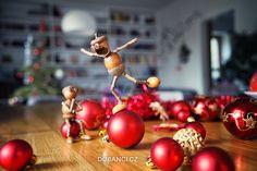 Galerie - Dubánci Acorn Crafts, Gland, Elves, Christmas Bulbs, Recycling, Fruit, Diy, Holiday, Handmade