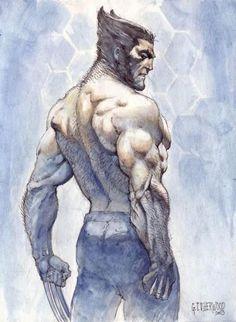 Wolverine by Geoff Isherwood
