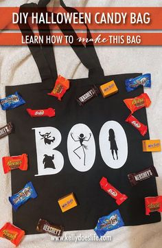 Looking for a great Disney Halloween craft to make with your cricut? This glow in the dark candy bag is super easy and cheap to make! Who doesn't love Nightmare Before Christmas?!