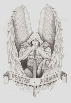 unique Tattoo Trends - Archangel Gabriel Tattoo Design For Girls | Tattoobite.com...