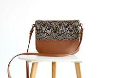 Crossbody leather bag Clutch Purse Every day purse Vegan