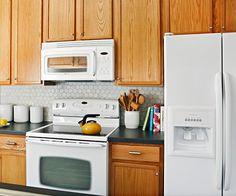 Furniture Durable Oak Kitchen Cabinets Oak Kitchen