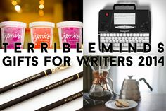 It's that time again. Got a writer in your life who you like enough to spend time and money on them?