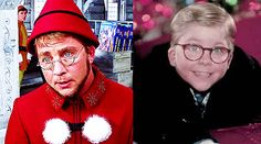 """The actor who played Ralphie in A Christmas Story makes a cameo as an elf in the film. 