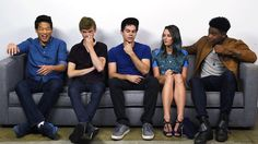 Dylan O& Kaya Scodelario, Thomas Brodie-Sangster, Ki Hong Lee, and Dexter Darden spill hilarious secrets about the tight-knit cast. Thomas Maze Runner, Maze Runner 3, Maze Runner Funny, Maze Runner Trilogy, Maze Runner The Scorch, Maze Runner Movie, Maze Runner Series, The Scorch Trials, Thomas Brodie Sangster