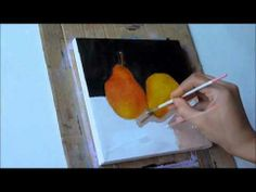 step by step oil painting still life demo