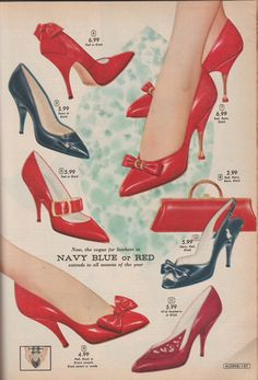 Vintage Shoe Porn-Aldens Fall-Winter 1960-61 catalog