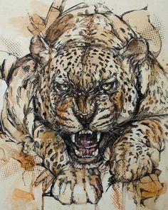 ~Jon Shaw tarafından hayvan portreleri. http://www.mozzarte.com/sanat/jon-shawfantastik-hayvan-portreleri/