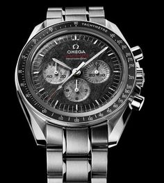 Omega Speedmaster Apollo-Soyuz w/meteorite dial. 1975 pieces in the World, mine is no. 715. Outrageous.