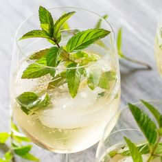 elderflower mint prosecco cocktail recipes dishmaps elderflower mint ...