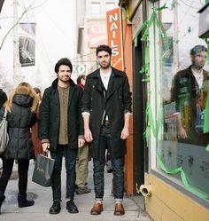 Toronto Street Fashion: Phillip & Andy
