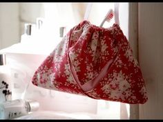 Origami drawstring pouch by Debbie Shore - YouTube