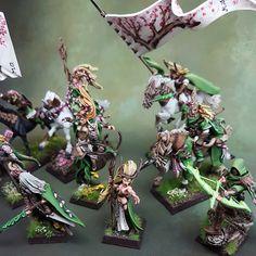 Warhammer Wood Elves Army
