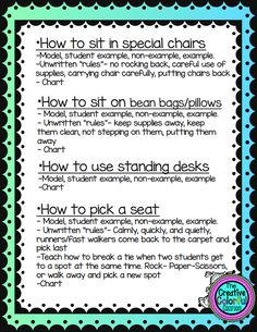 I have been asked by many readers how I set up my flexible seating. I wanted to share my plans and procedures for implementing our seatin...