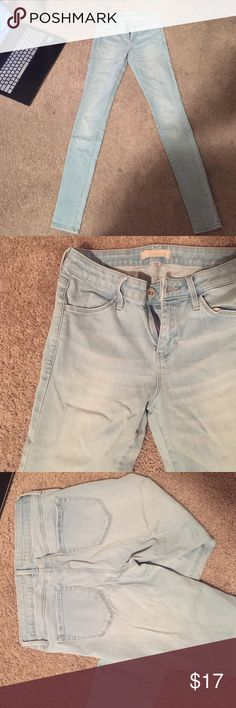 Blue jeans UniQlo jeans. These were my favorite blue jeans!! So comfy, fit my leg length, stretchy, and cute with anything. Excellent condition but they're too small for me now Uni Qlo Jeans Skinny