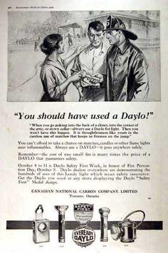 Eveready Daylo Flashlights (1919)