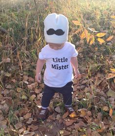 Baby/toddler mustache beanie by LittleMisterThreads on Etsy