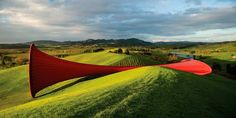 Anish Kapoor – Dismemberment - - Gibbs Farm - Located on New Zealand's North Island (about 60 km north of Auckland) lies a 1,000 acre (4 sq km) property owned by one of New Zealand's wealthiest businessmen, Alan Gibbs.