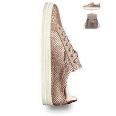 Art.-Nr.: 23676 #Tamaris #shoes #sneaker #sport #sporty #fashion #style #gold #golden