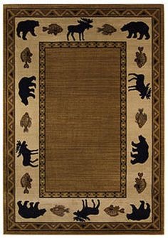 Cottage Grove Rug. Made in the USA of 100% olefin with tough, heavy twist yarn for lasting durability, on Wilton looms. $178