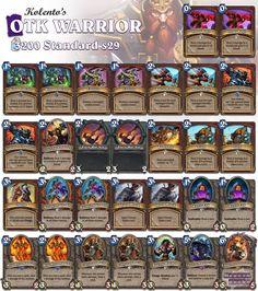 OTK Warrior #Hearthstone #StandardWarrior