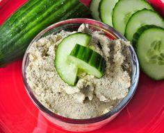 Easy Cucumber Walnut Dip - Vegan Family Recipes