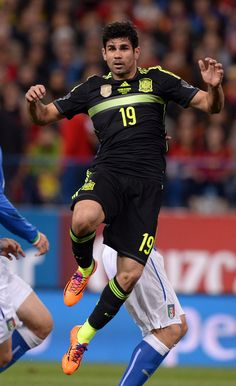 Diego Costa on the Spain National Team