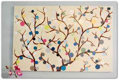 simple-painting-ideas-canvas-bubbles-tree.jpg (1024×692)