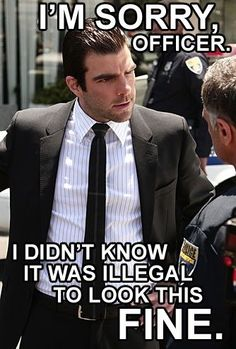 Sylar knows he's guilty of many crimes. He just didn't know attractiveness was one of them.