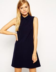 Enlarge ASOS Shift Dress with Collar