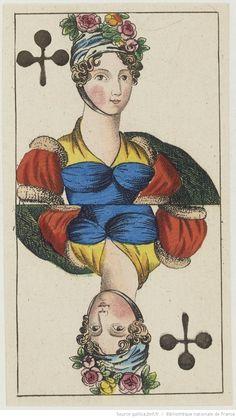 """[Jeu de tarot à enseignes françaises dit du """"Freischütz"""", d'après l'opéra de…"""