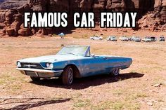 Happy Friday and bank holiday weekend, all! Can you name this car and the film it was made famous by? #FamousCarFriday #DIA #film