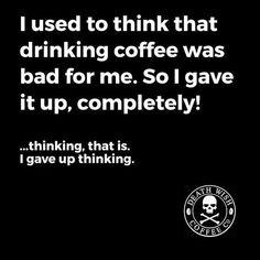 Yup. Happy #CoffeeSmiles :)