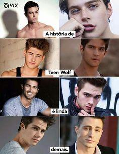New memes apaixonados em portugues ideas Teen Wolf Memes, Teen Wolf Tumblr, Teen Wolf Quotes, Teen Wolf Scott, Teen Wolf Boys, Teen Wolf Stiles, Memes Status, New Memes, Funny Memes
