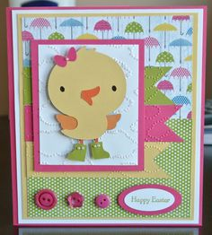 Easter card - made by me!