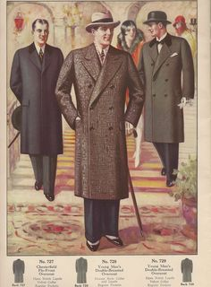 Men's Fashions Jay Rose & Co. Chicago Fall/Winter 1927-8