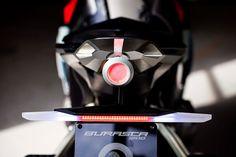 Burasca gives Honda's VFR the Drudi treatment Aldo, Honda S, Helmet Design, Touring, Darth Vader, Bike, Sport, Motorcycles, Retro