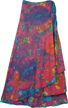 Killarney Tie Dye Wrap Around Long Skirt, just ordered this, too!