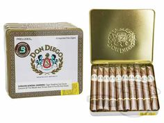 Don Diego Preludes 4 x 30—Tins: 50 Cigarillos - Best Cigar Prices