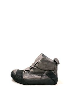 Grey Object Dyed Trainers BAMBA1 – The Archive