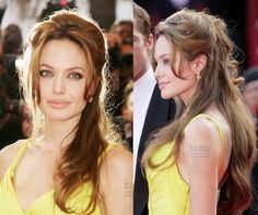 Apparently I like Angelina Jolie's hair styles.