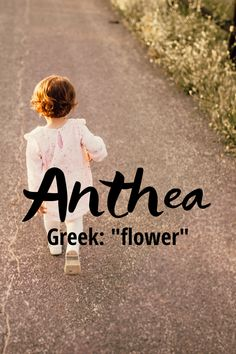 """Anthea is a lovely name of Greek origin and means """"flower"""". Thea would make a cute nickname. It was not ranked on the top 1000 baby girl names in 2018 so it is definitely still a unique name. Girls Names And Meanings, Unique Names With Meaning, Unique Girl Names, Modern Baby Girl Names, Cute Girl Names, Cool Names, Baby Names, Writing Resources, Writing Prompts"""