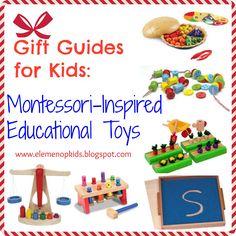 √     Gift Guide for Kids: Montessori-Inspired Toys