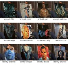 Detroit: become human ⚪ pictures - - Pagina 3 - Wattpad Detroit Being Human, Detroit Become Human Connor, Human Human, Human Art, Human Painting, Quantic Dream, Human Pictures, Becoming Human, Online Comics