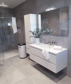 Trendy Bathroom Layout No Toilet Vanities Bathroom Layout, Modern Bathroom Design, Contemporary Bathrooms, Bathroom Interior Design, Small Bathroom, Bathroom Wall, Basement Bathroom, White Bathroom Storage Cabinet, Bathroom Cupboards