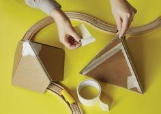 DIY Cardboard landscape