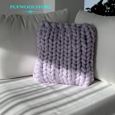 """Pufwoolstore on Instagram: """"You must have this Chunky Pillow in your livingroom❤️ #chunkypillow #handmade #chunkywool #wool #merinowool #livingroom #livingroomdecor…"""" Chunky Wool, Merino Wool Blanket, Must Haves, Living Room Decor, Pillows, Instagram Posts, Handmade, Drawing Room Decoration, Hand Made"""